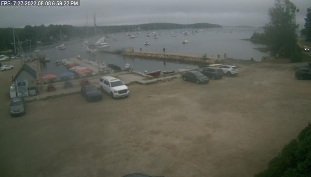 Webcam view of Mahone Bay Civic Marina parking